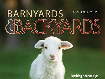Barnyards and Backyards cover