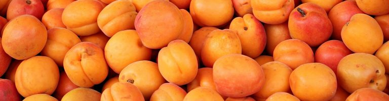 pile of whole apricots